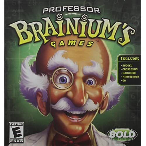 Professor Brainium's Games For Nintendo DS DSi 3DS 2DS