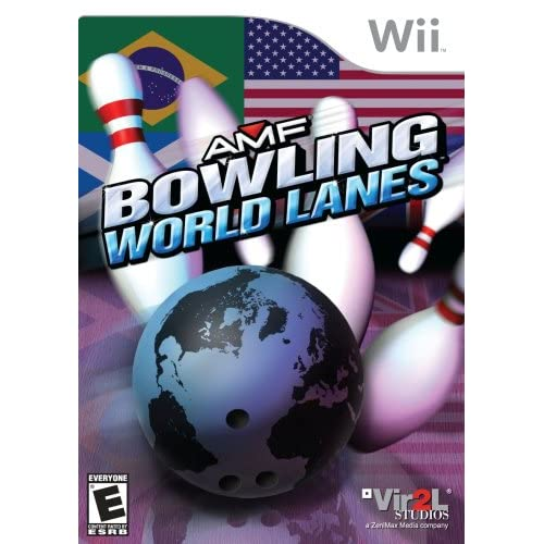 AMF Bowling World Lanes For Wii