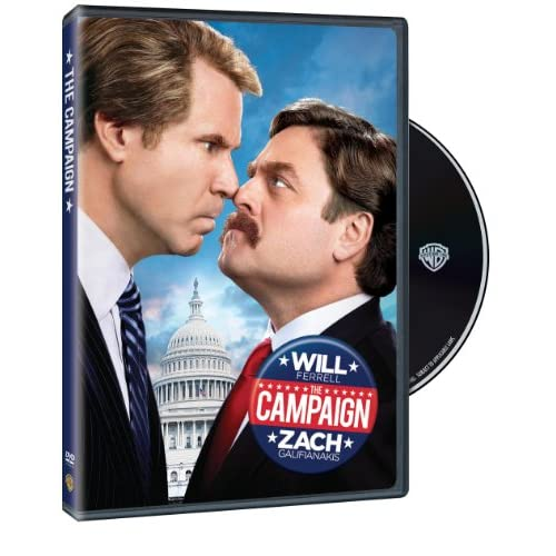 The Campaign On DVD With Will Ferrell Comedy