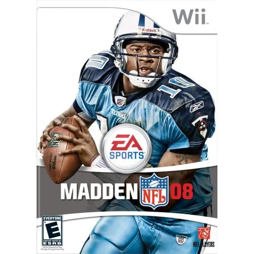 Madden NFL 08 For Wii And Wii U Football