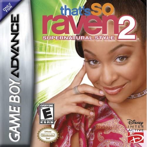 That's So Raven 2 Supernatural Style GBA Disney Action Adventure For