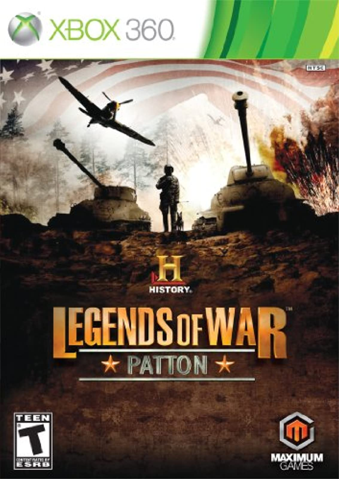 History: Legends Of War Patton For Xbox 360