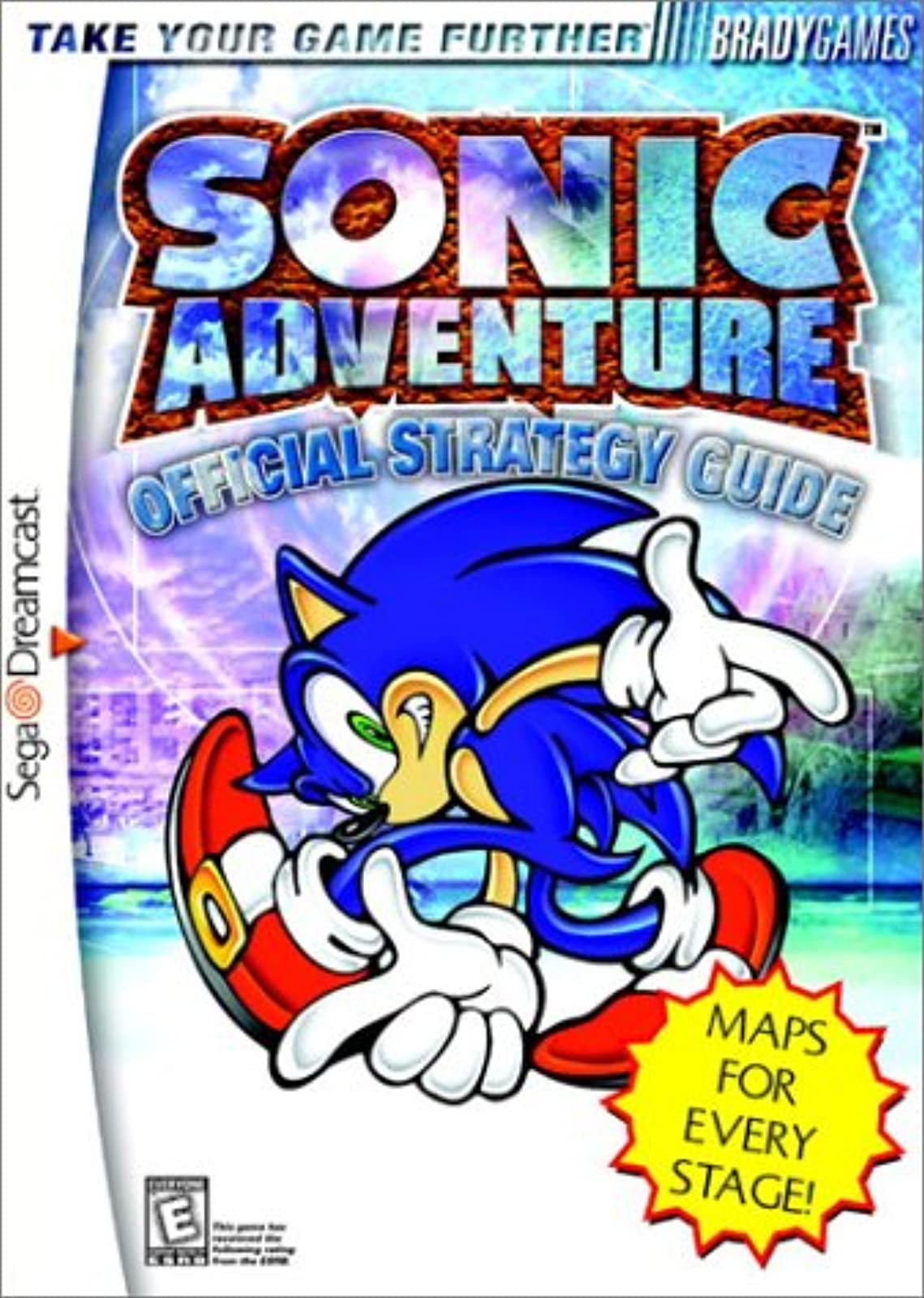 Sonic Adventure Official Strategy Guide DC Bradygames