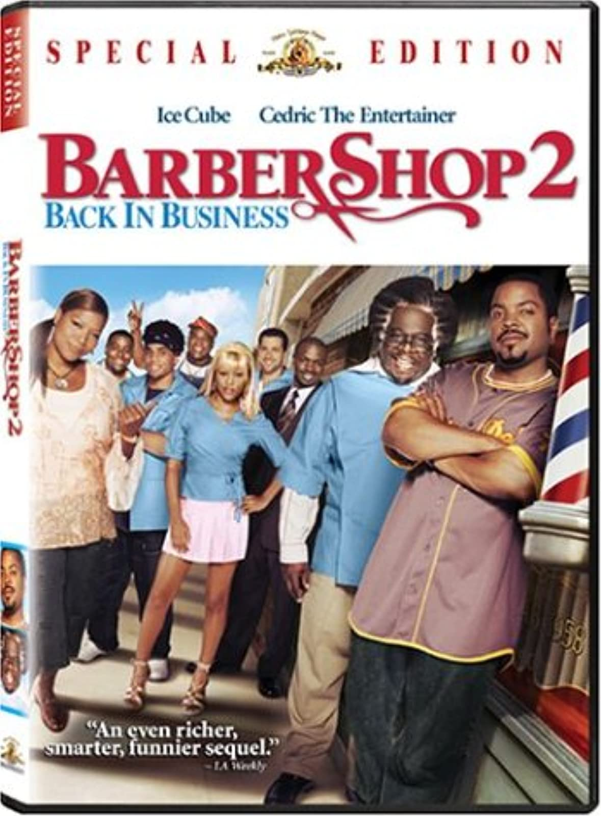 Barbershop 2: Back In Business On DVD With Ice Cube Comedy