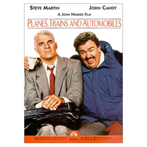 Planes Trains And Automobiles On DVD With Steve Martin