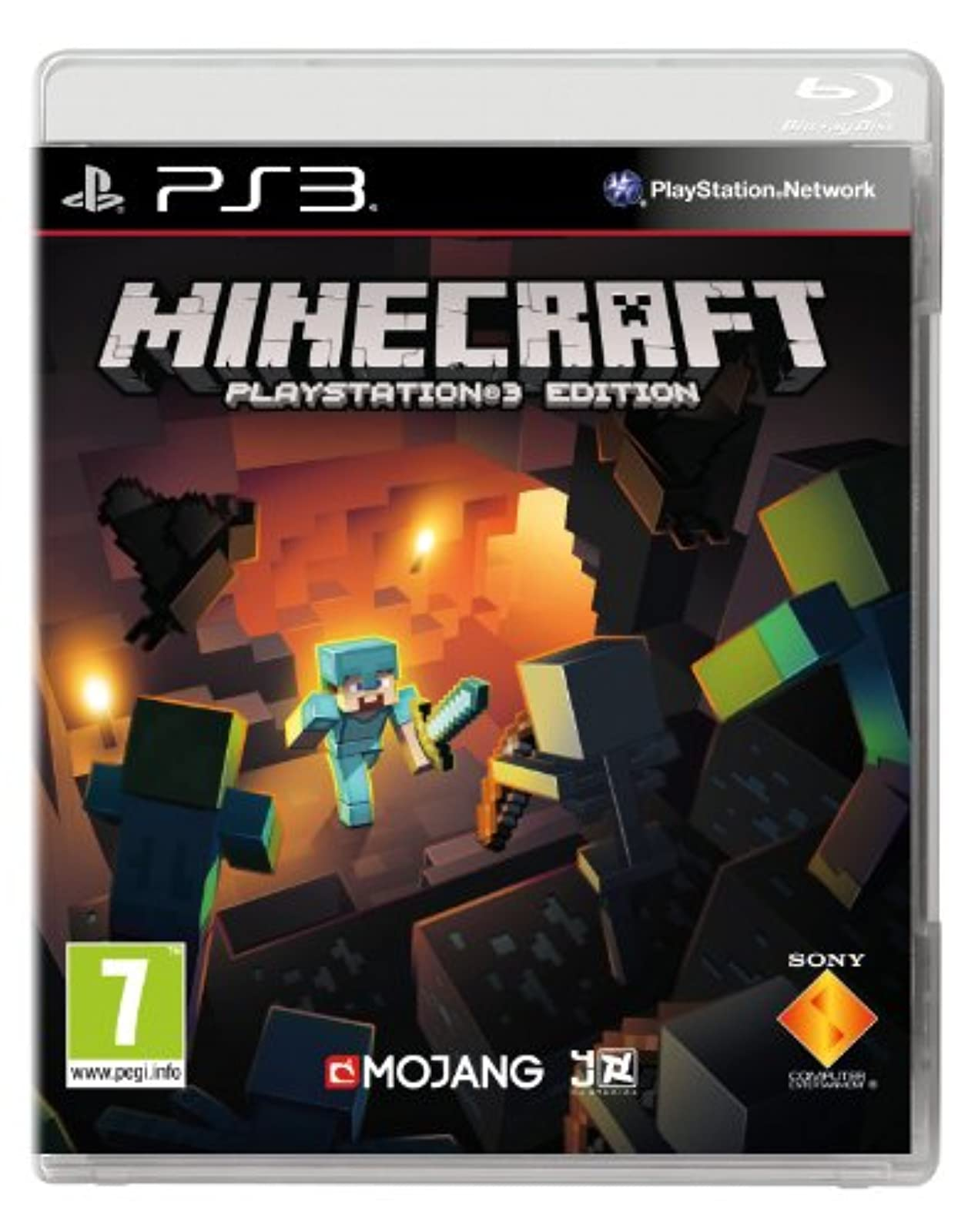 Minecraft Edition For PlayStation 3 PS3
