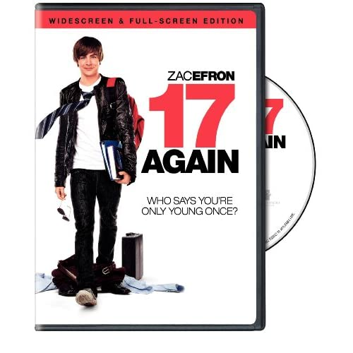 17 Again On DVD With Zac Efron