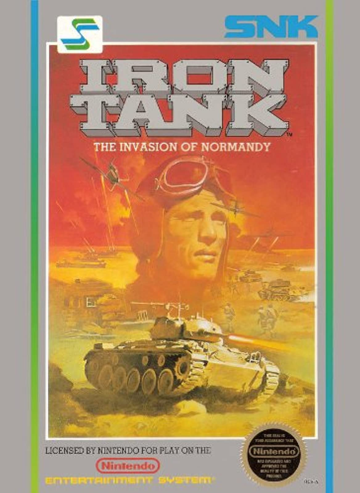 Iron Tank For Nintendo NES Vintage RPG
