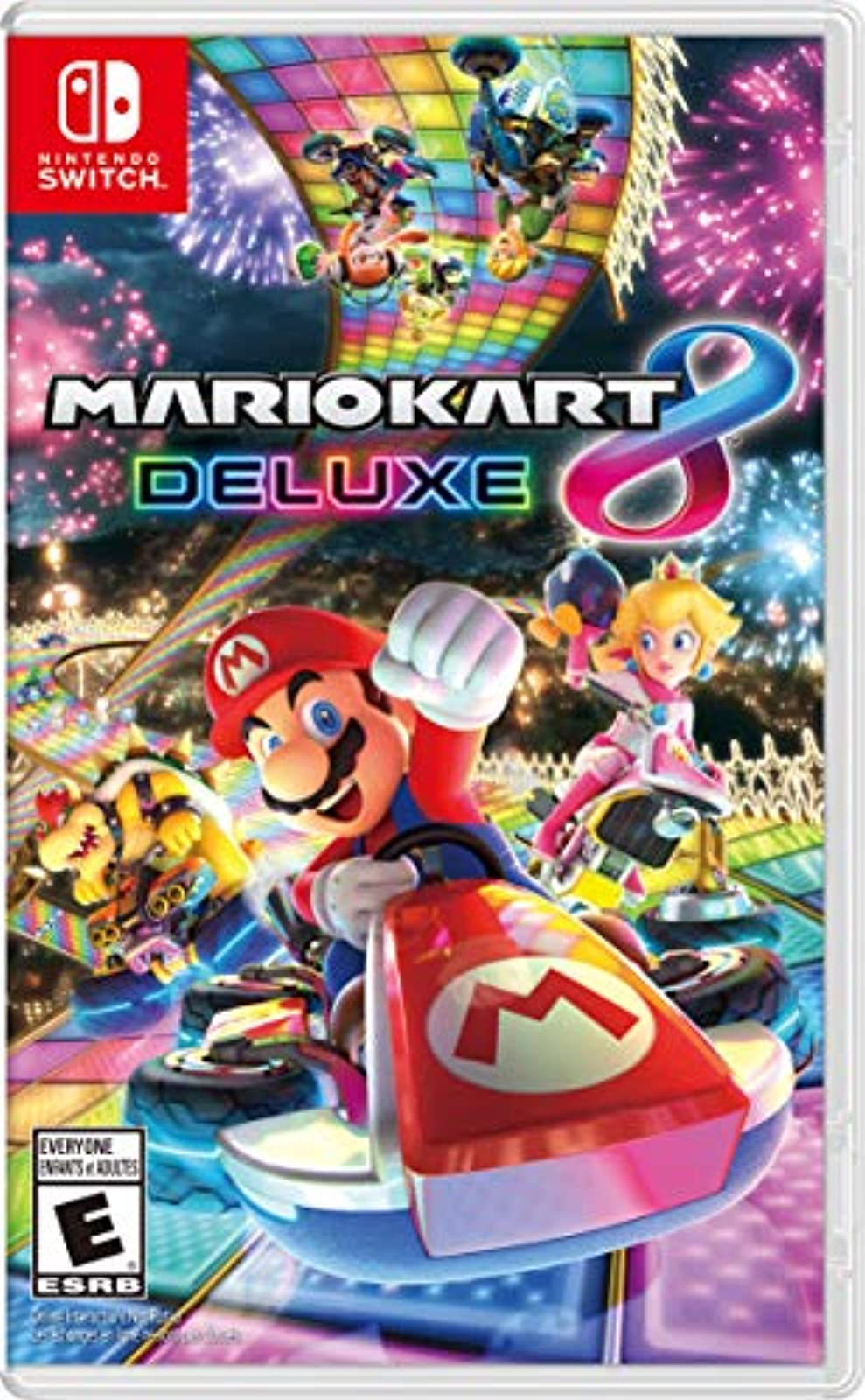 Mario Kart 8 Deluxe For Nintendo Switch Racing