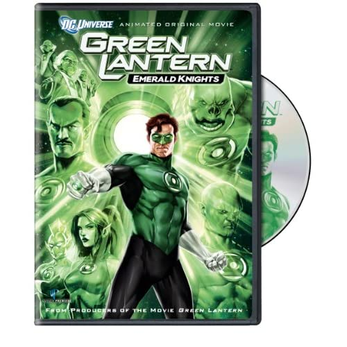 Green Lantern: Emerald Knights On DVD With Nathan Fillion Animated