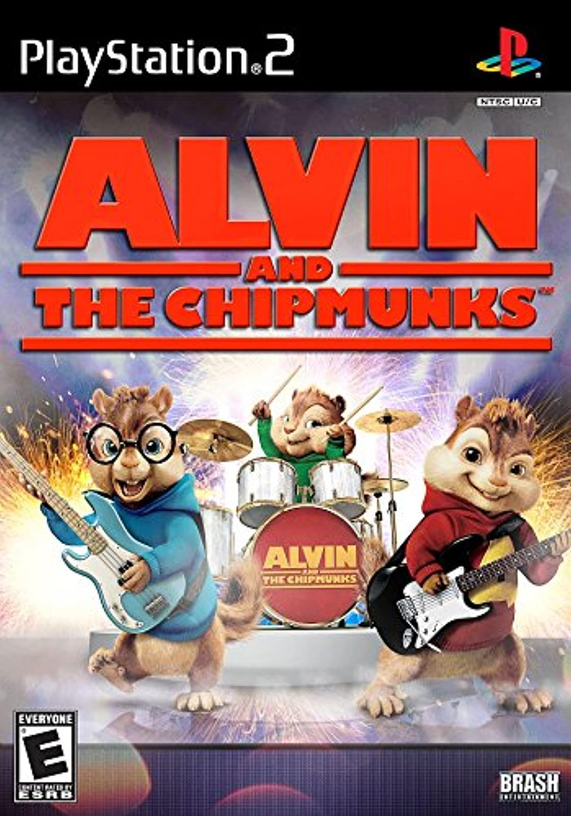 Alvin And The Chipmunks For PlayStation 2 PS2