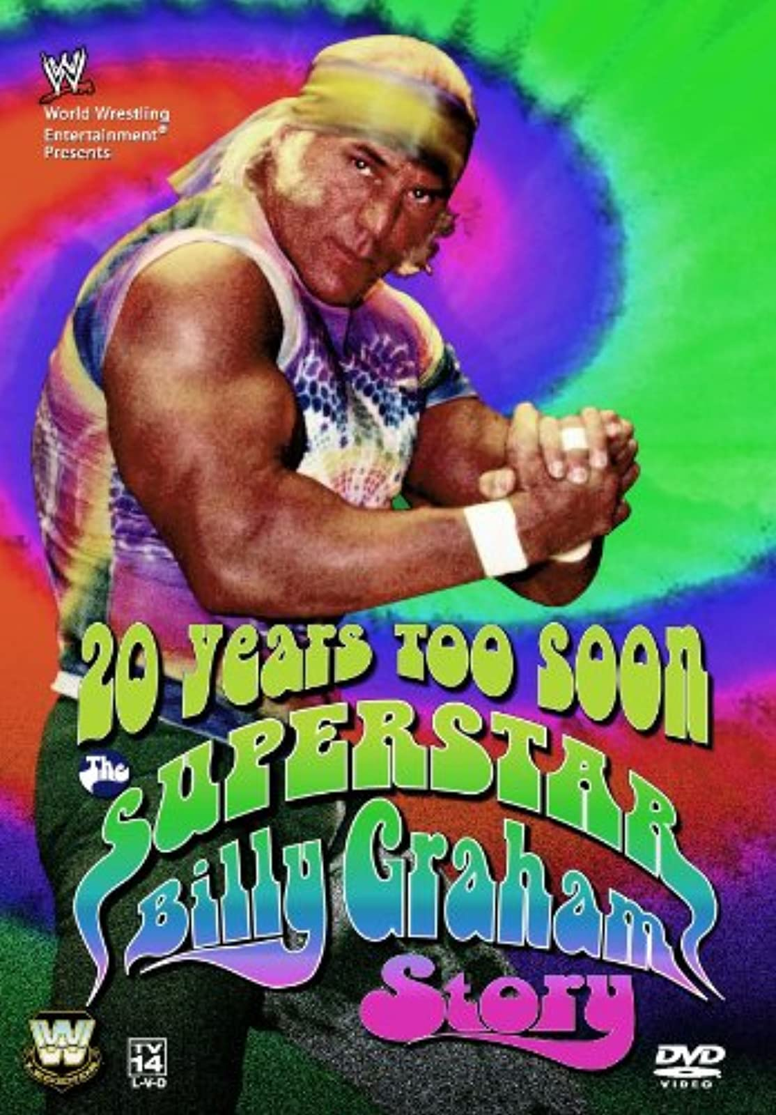 20 Years Too Soon The Superstar Billy Graham Story WWE On DVD With Hulk Hogan