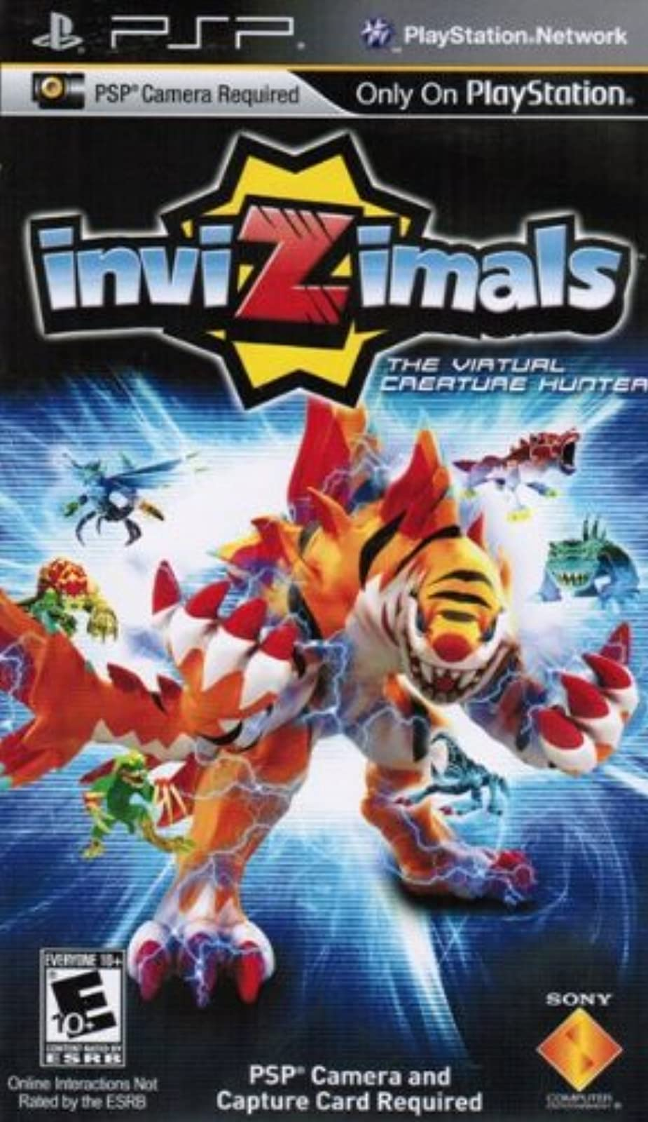 Invizimals Game Only For PSP UMD