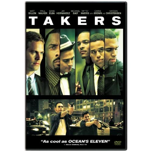 Takers On DVD With Paul Walker Drama