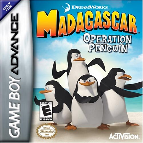 Madagascar Operation Penguin For GBA Gameboy Advance