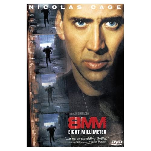 8MM On DVD With Nicolas Cage Mystery