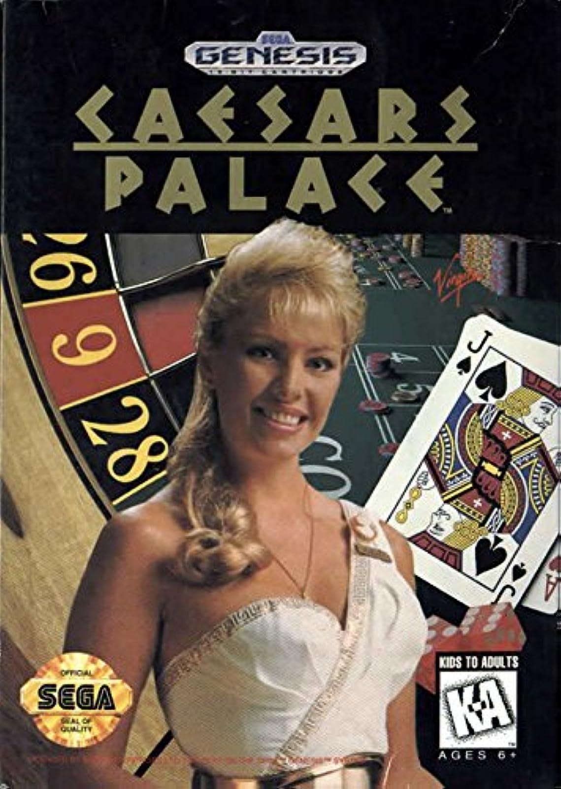 Caesars Palace For Sega Genesis Vintage