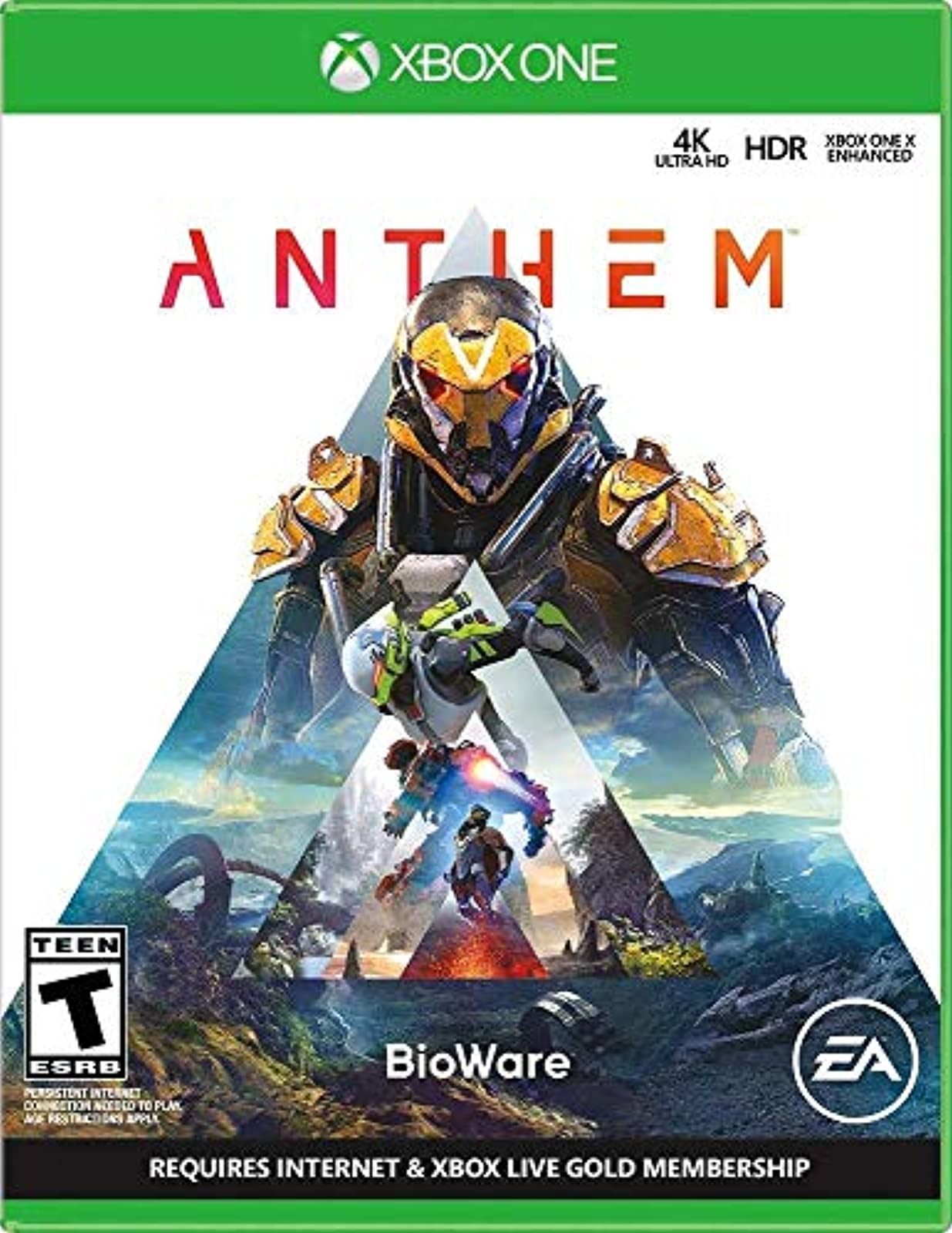 Anthem For Xbox One Shooter
