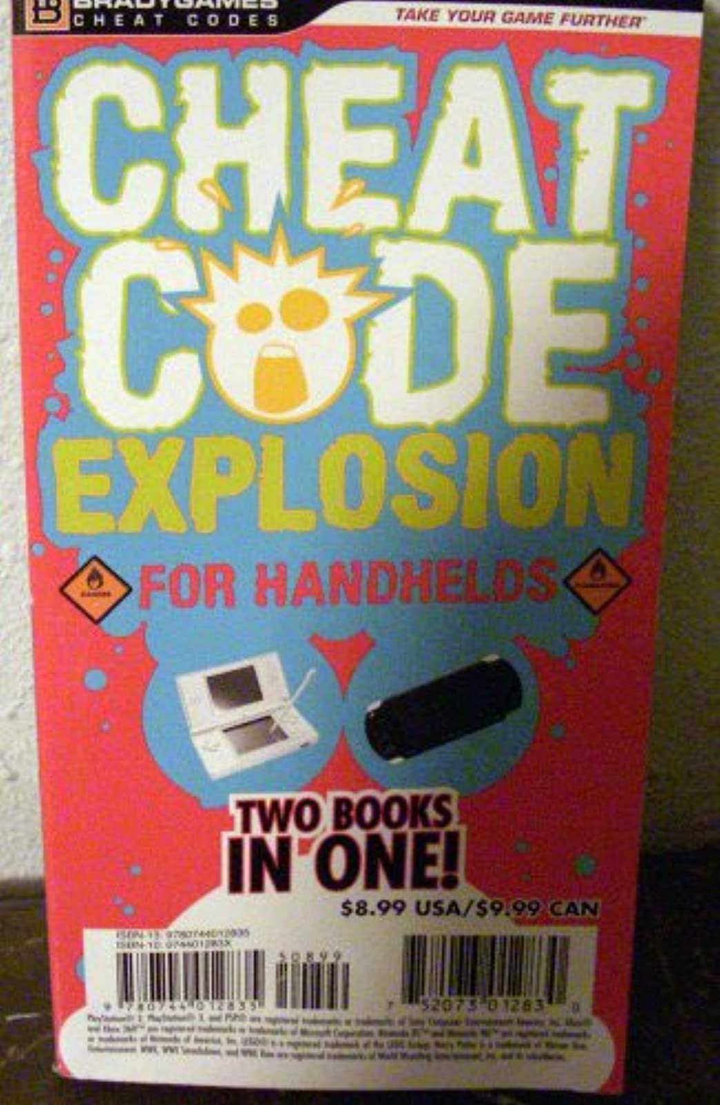 Cheat Code Explosion For Handhelds Two Books In One Strategy Guide 2
