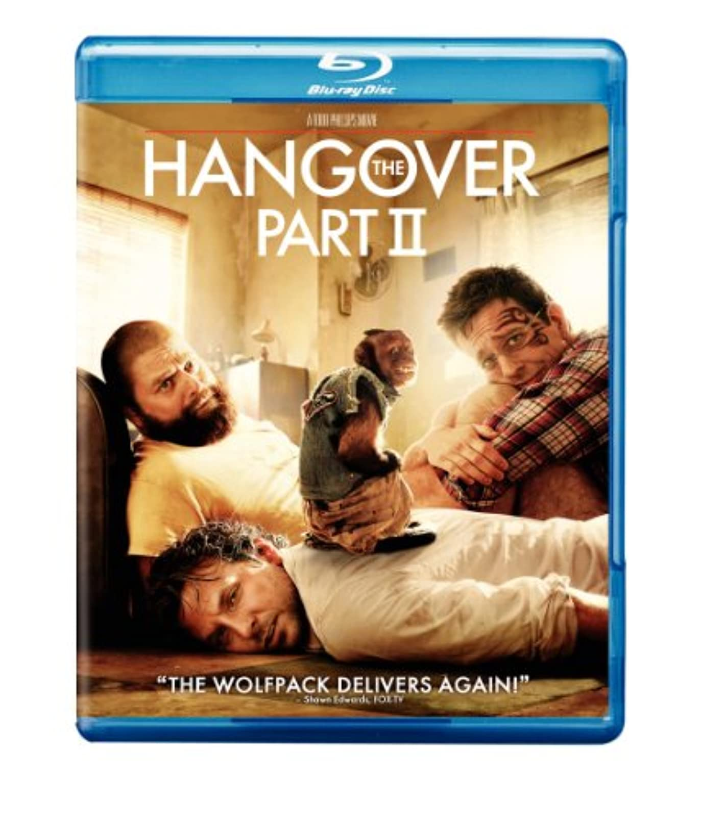 The Hangover Part II Movie-Only Edition Blu-Ray On Blu-Ray With