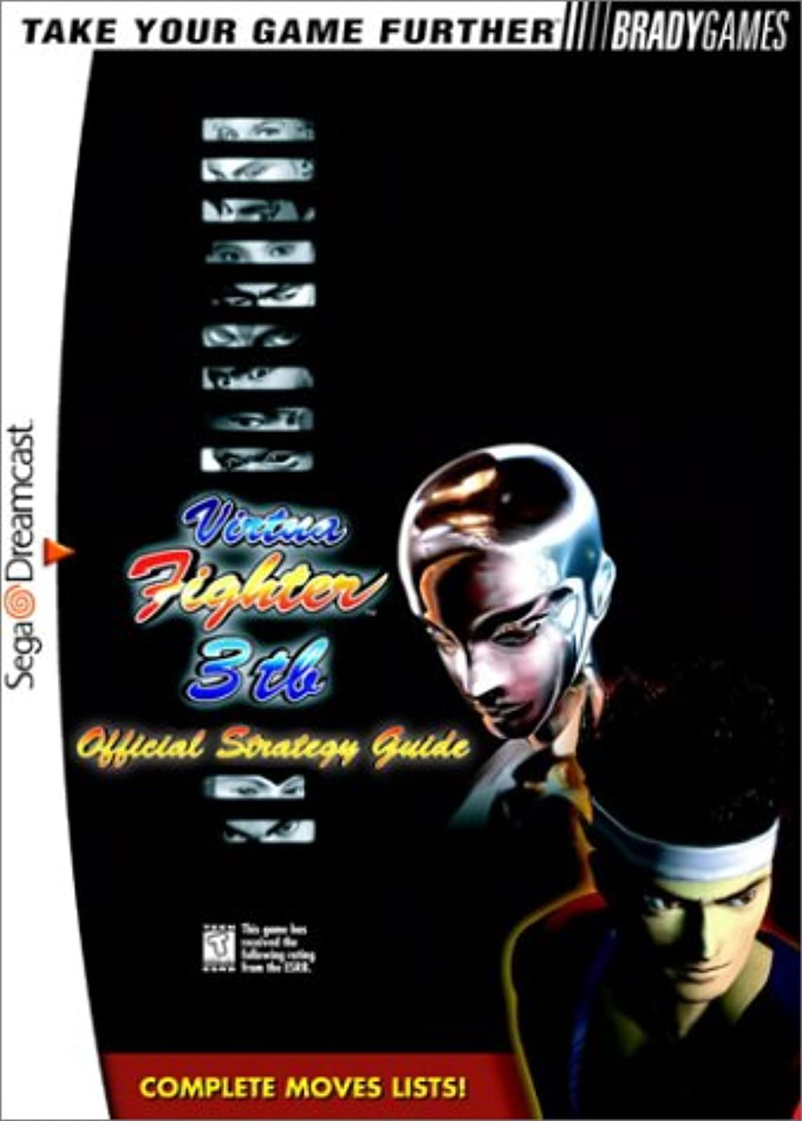 Virtua Fighter 3TB Official Strategy Guide Brady Games