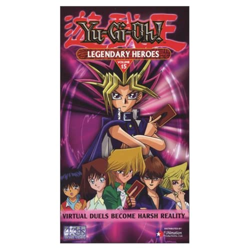 Yu-Gi-Oh 15: Legendary Heroes On VHS With Pablo Sevilla