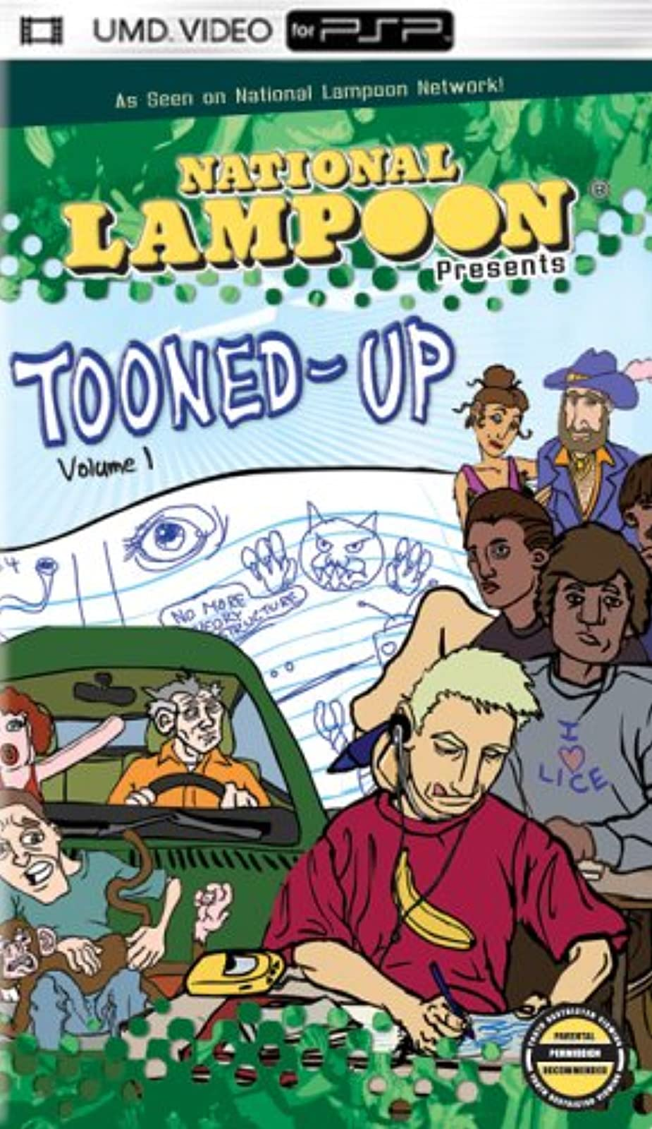 National Lampoon's Tooned-Up UMD For PSP