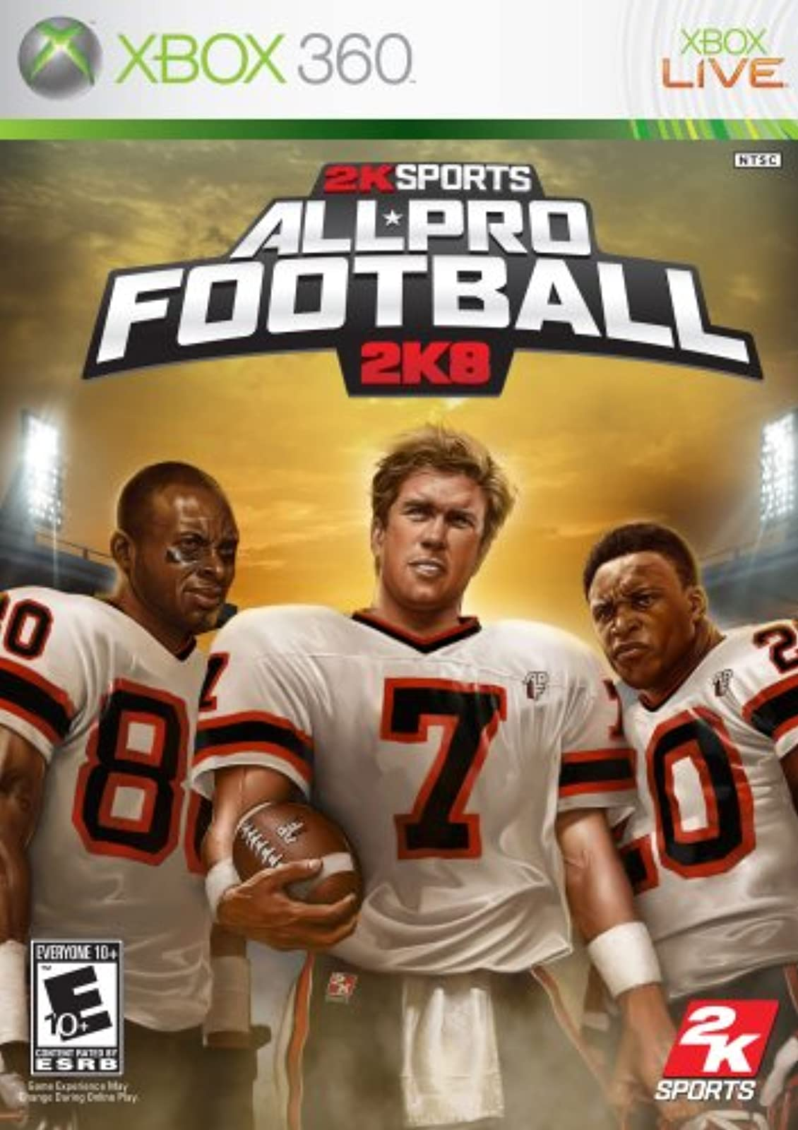 All Pro Football 2K8 For Xbox 360