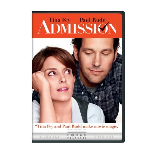 Admission On DVD With Tina Fey Comedy