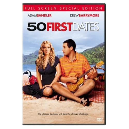 50 First Dates Full Screen Special Edition On DVD With Adam Sandler