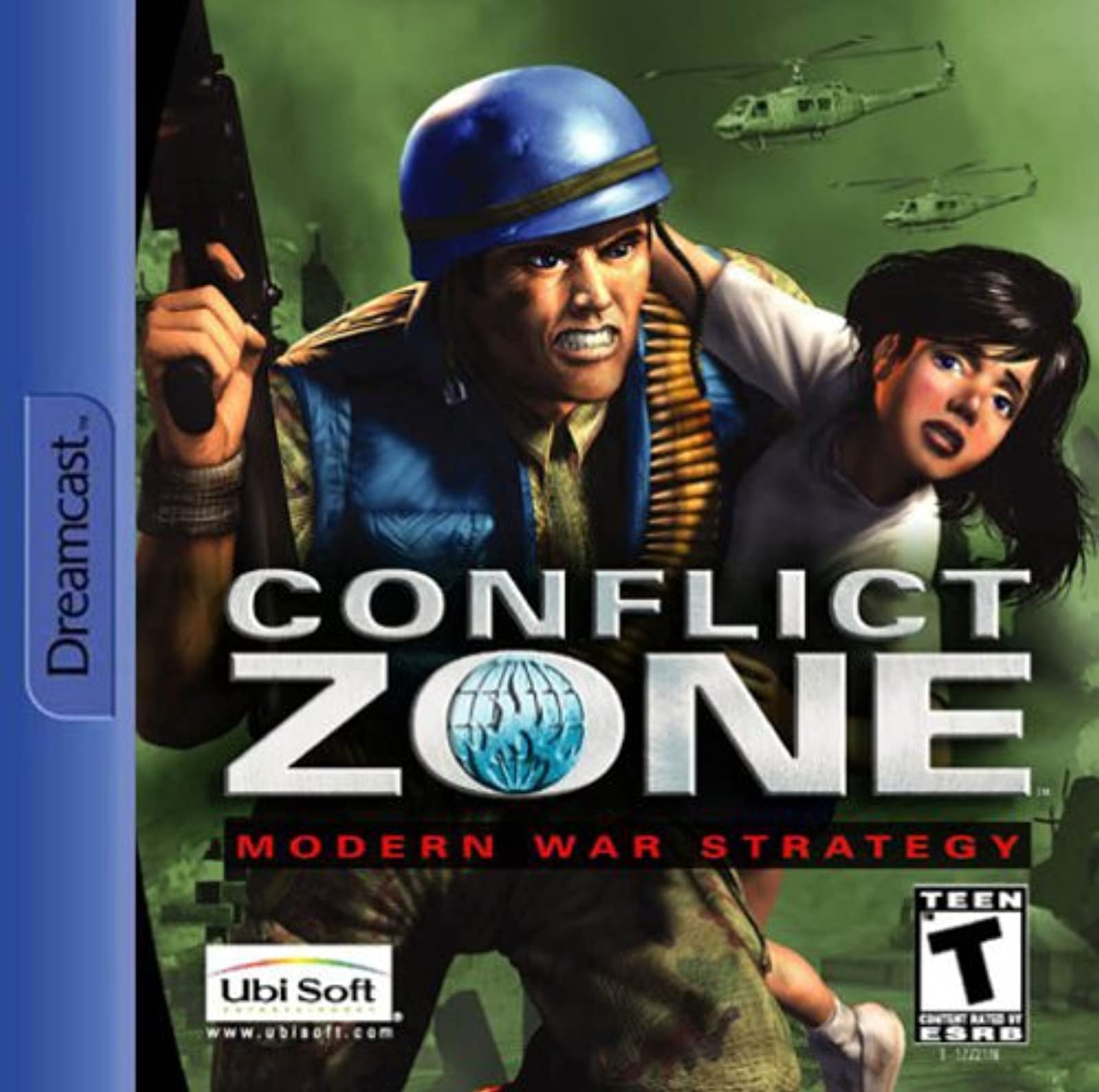 Conflict Zone: Modern War Strategy For Sega Dreamcast