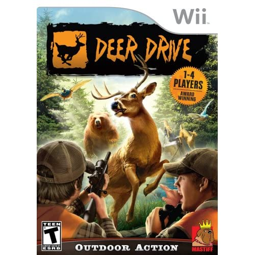 Deer Drive For Wii Shooter