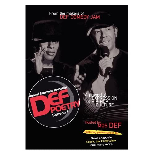 Image 0 of Def Poetry Season 1 On DVD With Stan Lathan