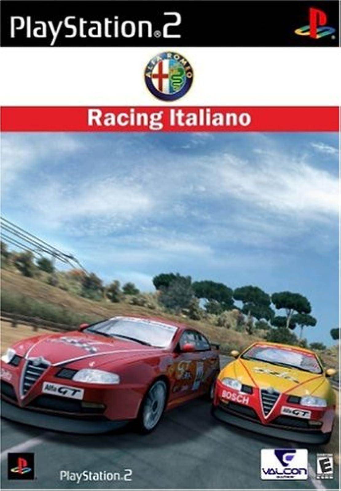 Alfa Romeo Racing Italiano For PlayStation 2 PS2