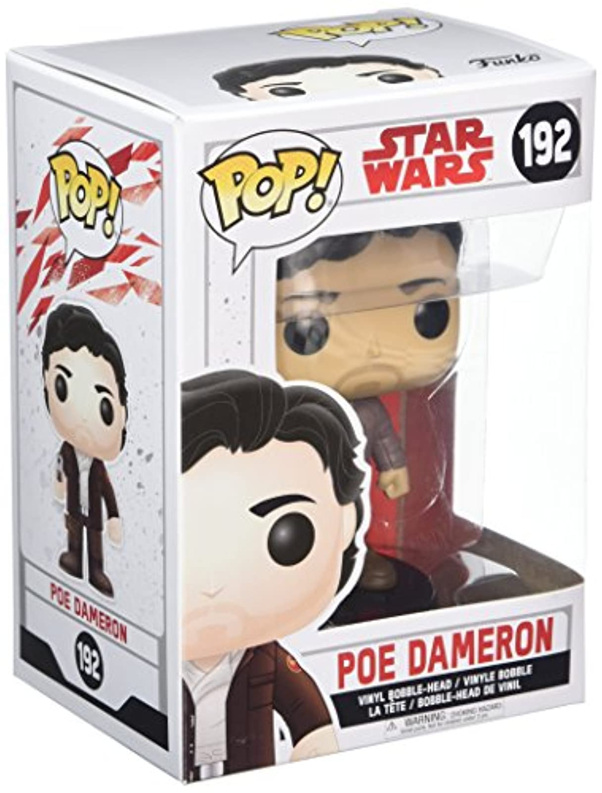 Funko Pop! Star Wars: The Last Jedi Poe Dameron Collectible Figure Toy Figurine