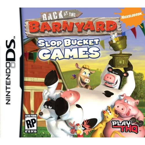 Back At The Barnyard: Slop Bucket Games For Nintendo DS DSi 3DS 2DS Puzzle
