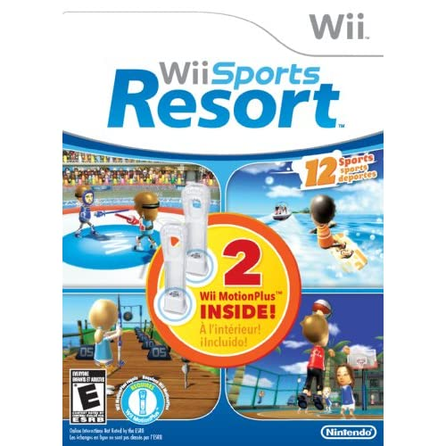 Image 0 of Wii Sports Resort Bundle With Two Wii And Wii U Motionplus