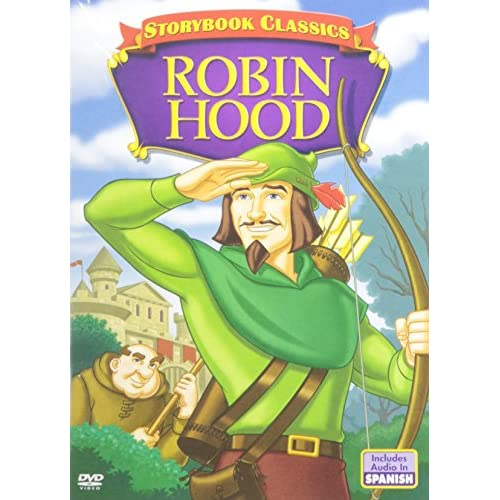 A Storybook Classic: Robin Hood On DVD