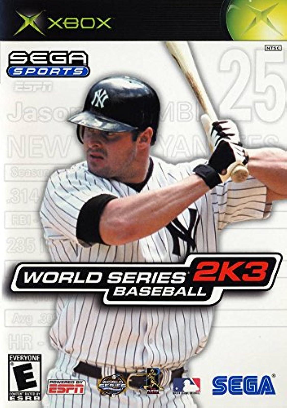 Sega Sports: World Series Baseball 2K3 Xbox For Xbox Original