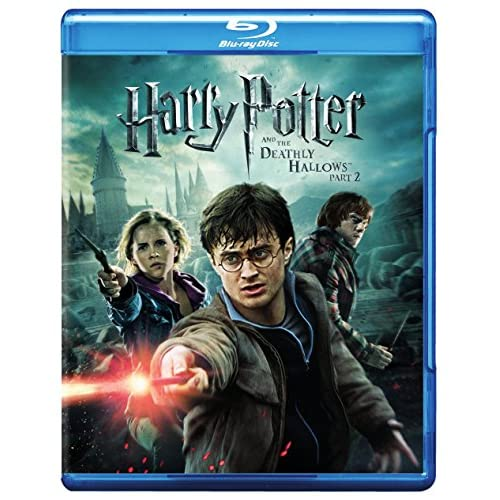 Harry Potter And The Deathly Hallows Part 2 Blu-Ray On Blu-Ray With