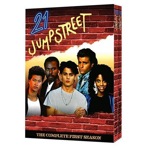 21 Jump Street The Complete First Season On DVD With Johnny Depp