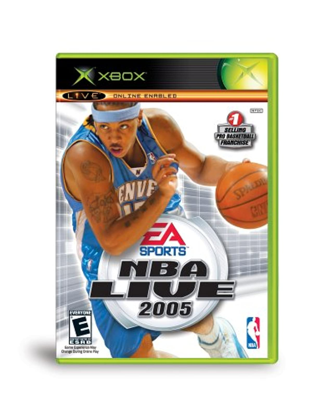 NBA Live 2005 Xbox For Xbox Original Basketball