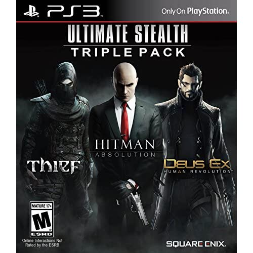 Ultimate Stealth Triple Pack For PlayStation 3 PS3