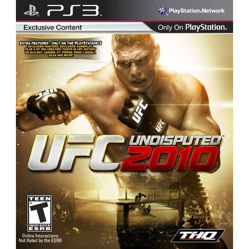 UFC Undisputed 2010 For PlayStation 3 PS3 Wrestling MMA