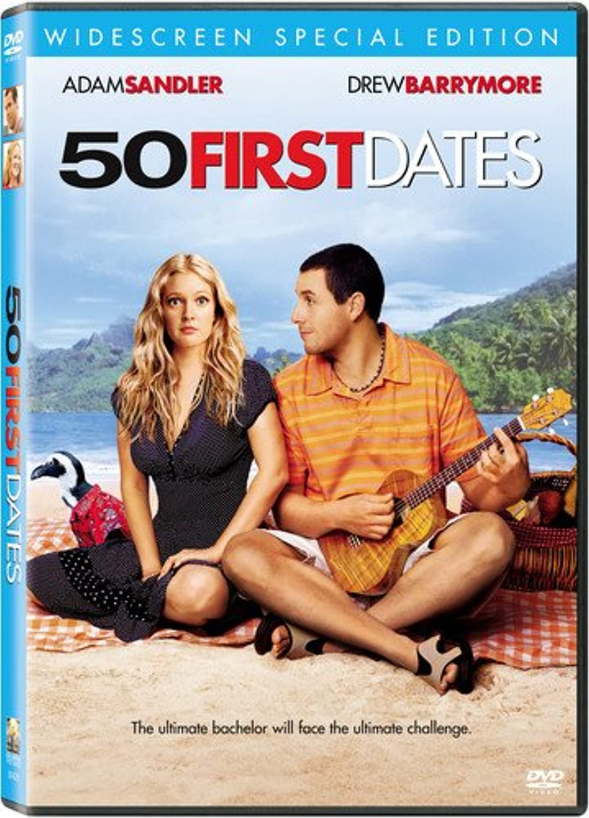 50 First Dates Widescreen Special Edition On DVD With Rob Schneider