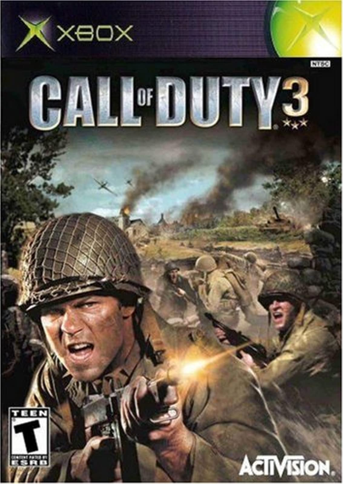 Call Of Duty 3 Xbox For Xbox Original COD Shooter
