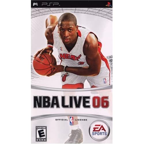 NBA Live 06 Sony For PSP UMD Basketball