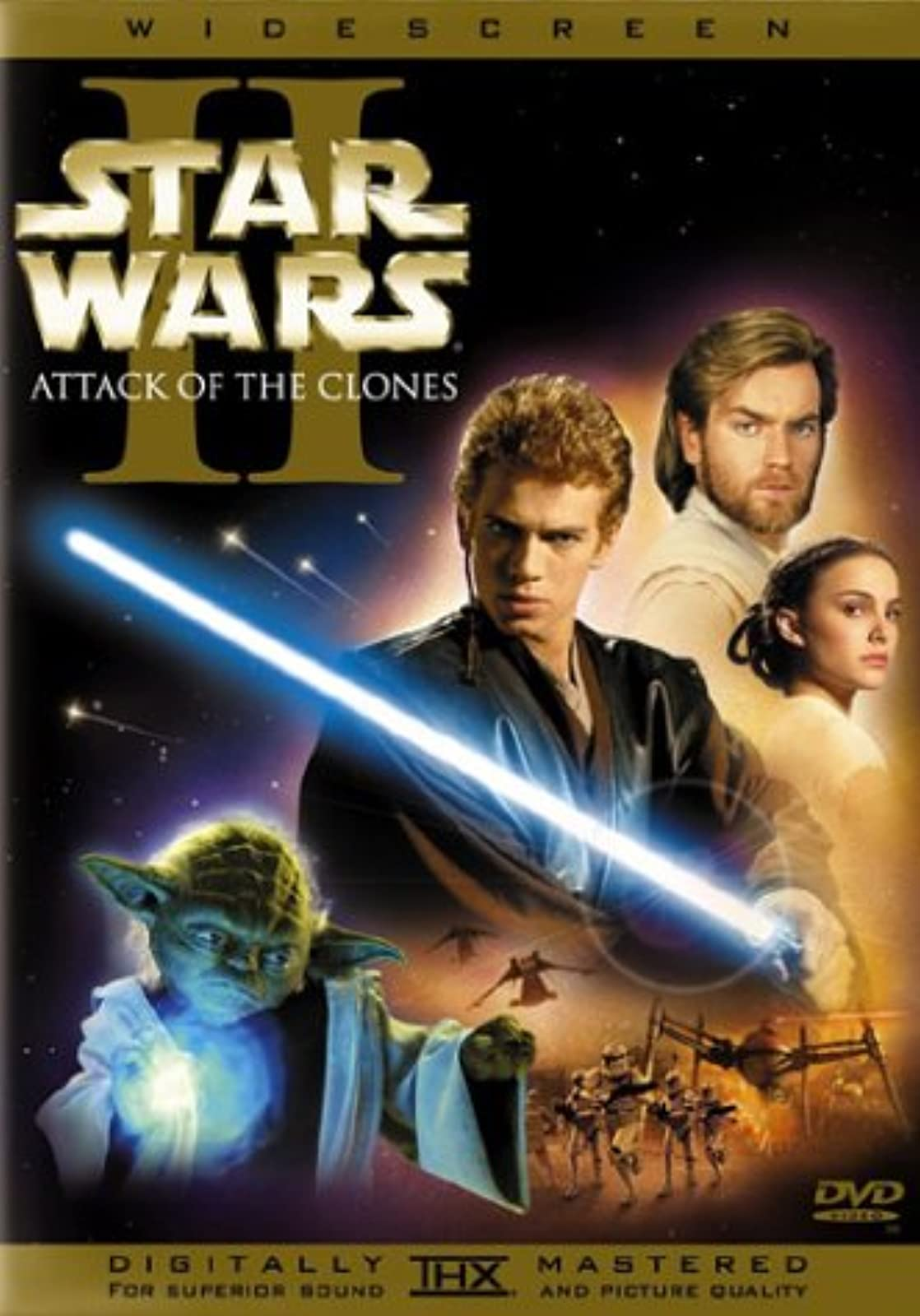 Star Wars: Episode II Attack Of The Clones Widescreen Edition On DVD