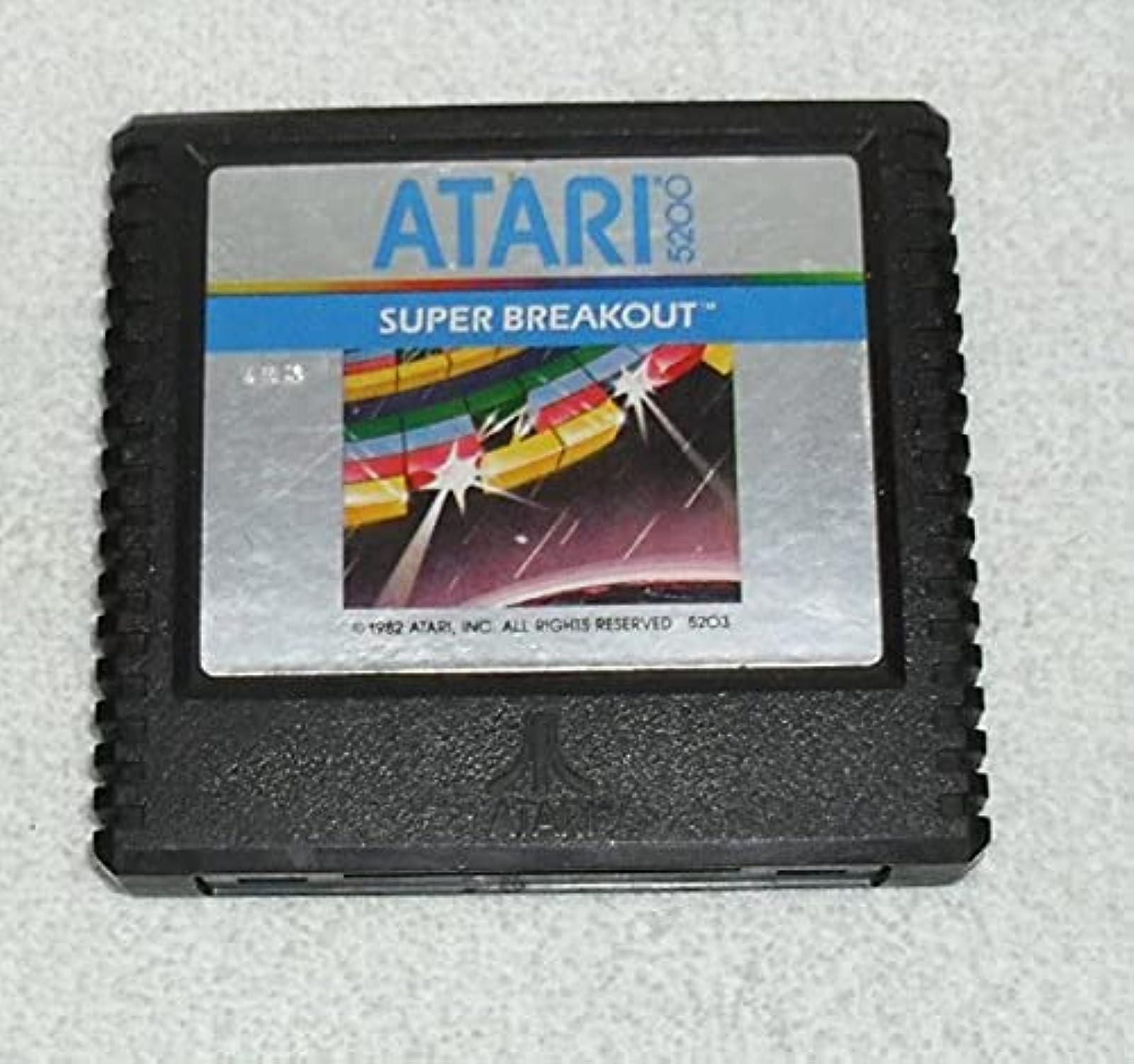 Super Breakout For Atari Vintage Arcade