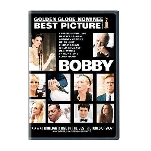 Bobby Full Screen Edition On DVD With Anthony Hopkins Drama